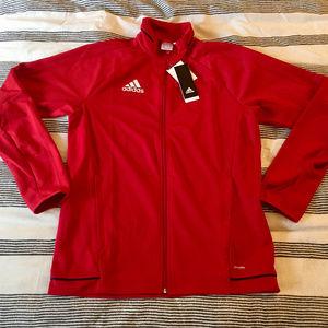 NWT Adidas Climalite Training Jacket